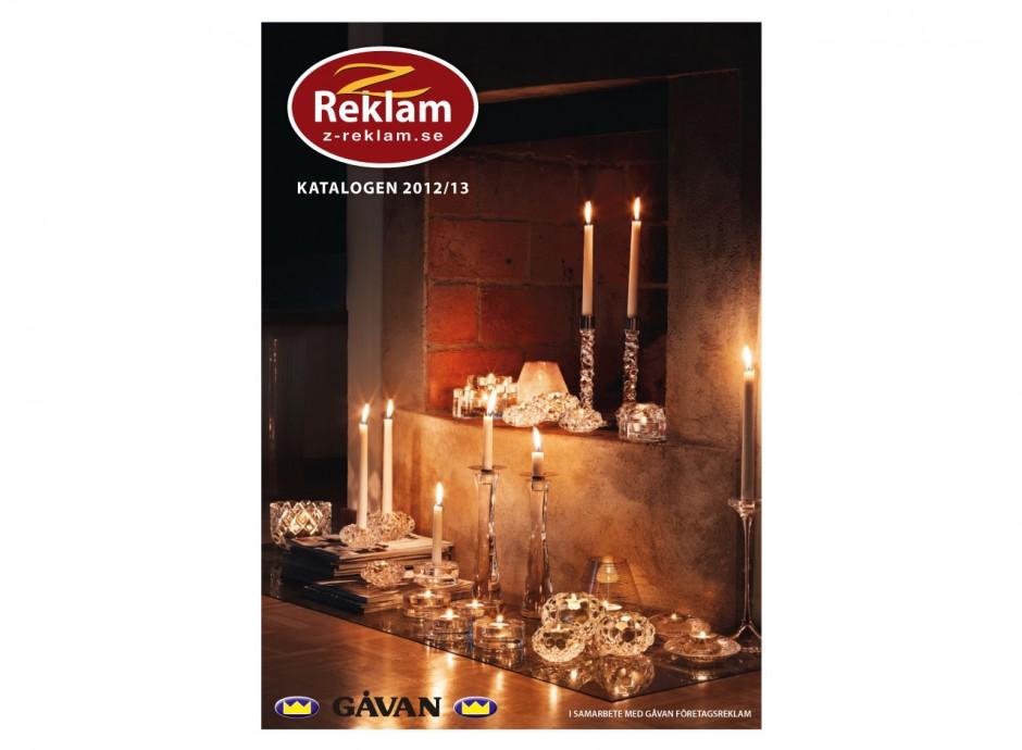 Katalog till Gåvan/Z-reklam